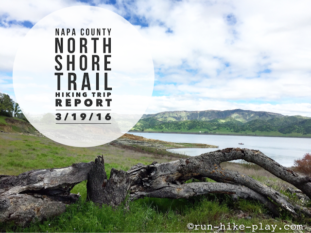Napa County North Shore Trail Hiking
