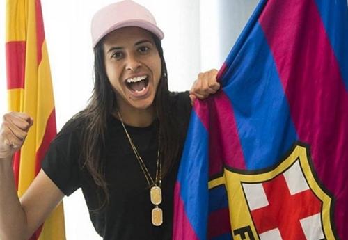 Jogadora Brasileira Andressa Alves