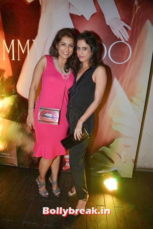 Deepika Gehani and Dilshad Khambatta, Evelyn Sharma, Lisa Haydon & Sophie Choudry Spotted at Jimmy Choo's Women's Day Celebrations