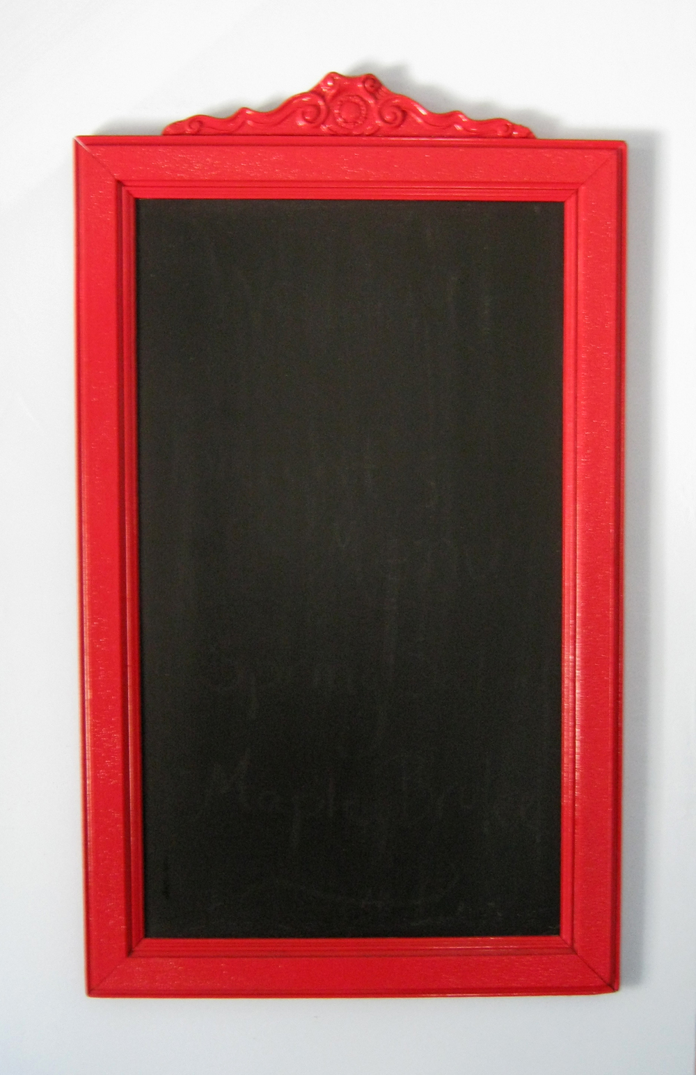 Found Beauty Studio Vintage Frame Chalk Board Before And