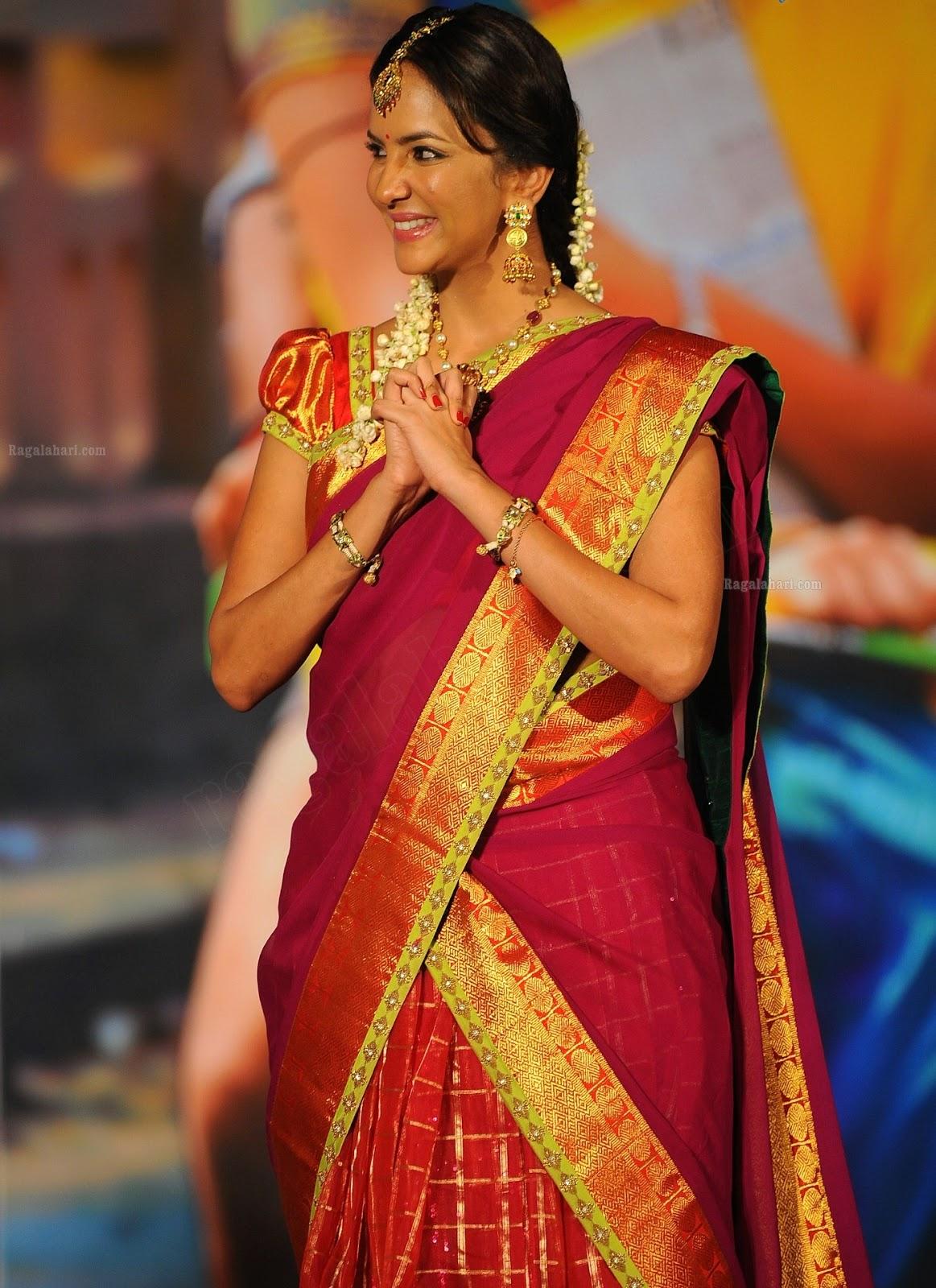 lakshmi prasanna in pattu langa hd photos