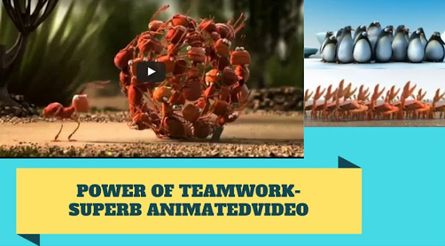 The Power Of Teamwork - Simply Explained Using Animation