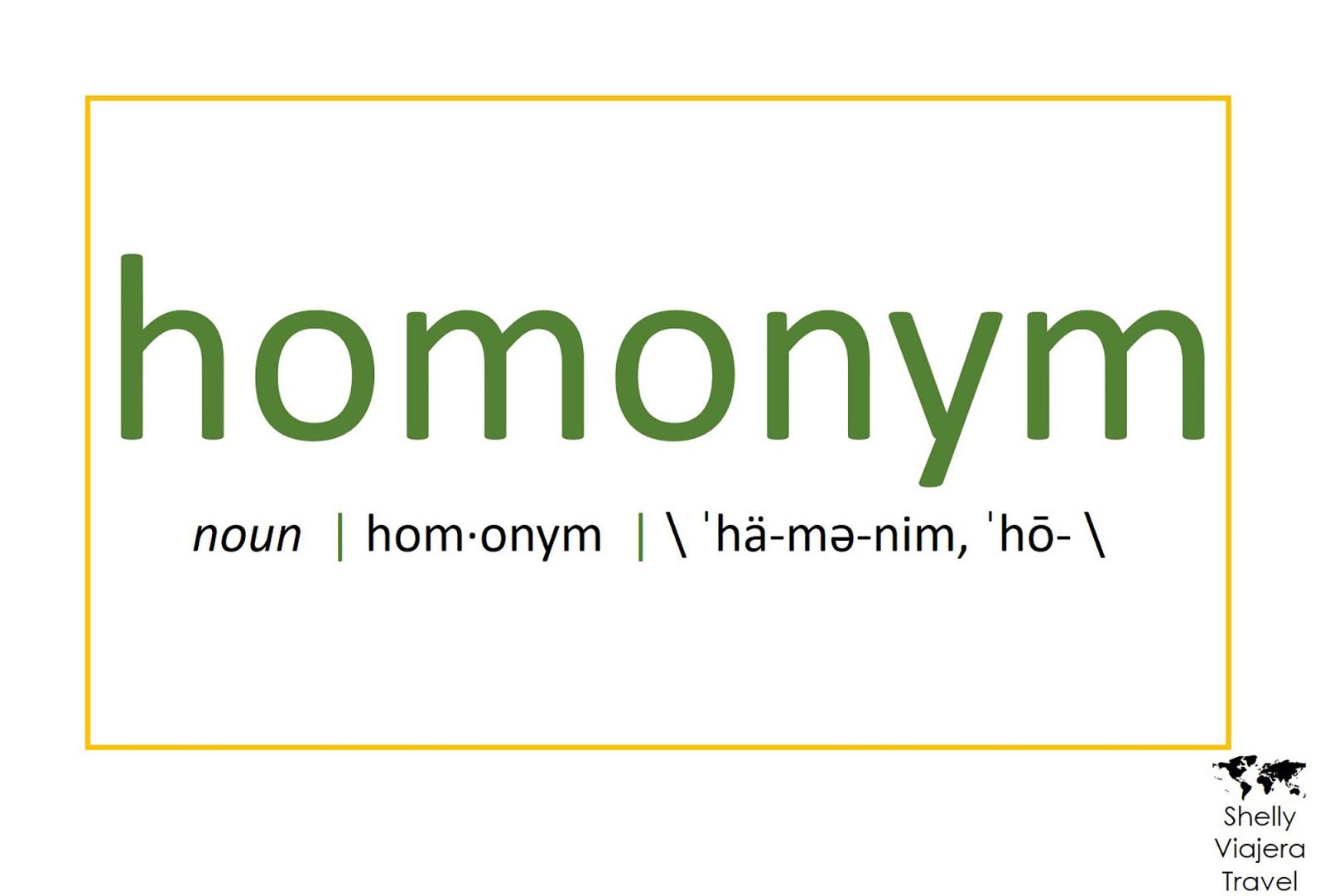 Filipino and Spanish Words: Homonyms - Shelly Viajera Travel