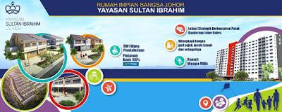 Borang Permohonan Pendaftaran Rumah Impian Bangsa Johor Yayasan Sultan Ibrahim 2017 Online
