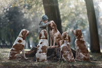 Little Kids and Their Big Dogs. Andy Seliverstoff