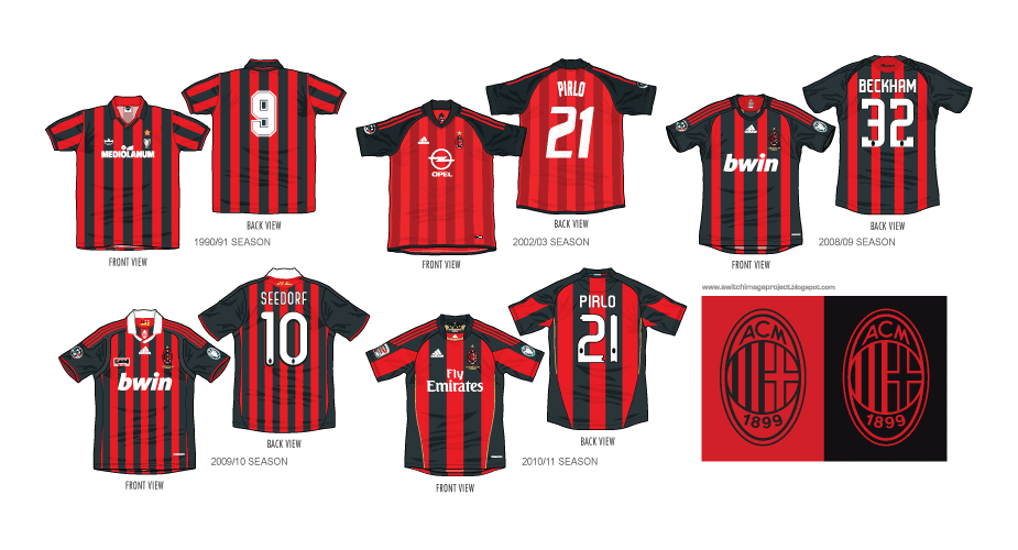 outlet store 18ebf 5a7a5 Football teams shirt and kits fan: AC Milan Week