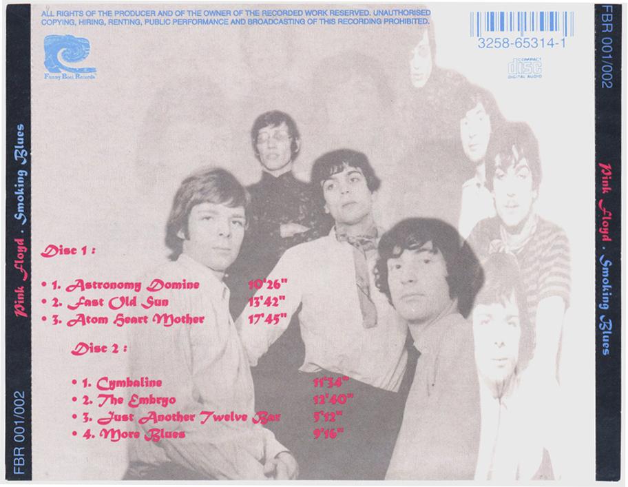 Pink Floyd [1970 11 21+22] Smoking Blues (Montreaux, Switzerland