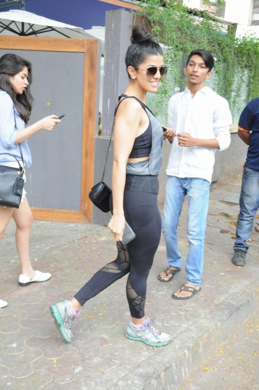 Actress Nimrat Kaur Spotted at Bandra