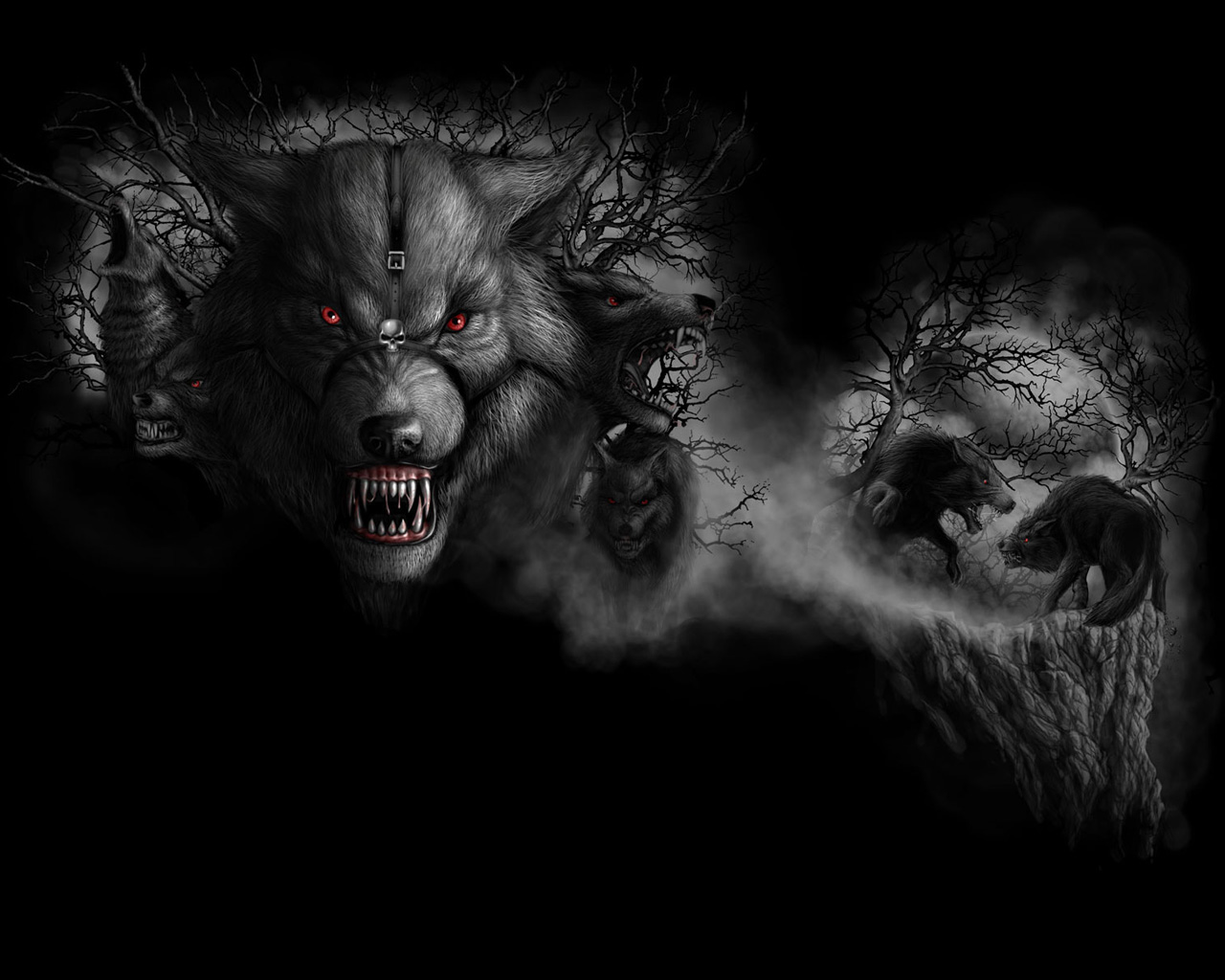 dark gothic lion wallpaper - photo #9