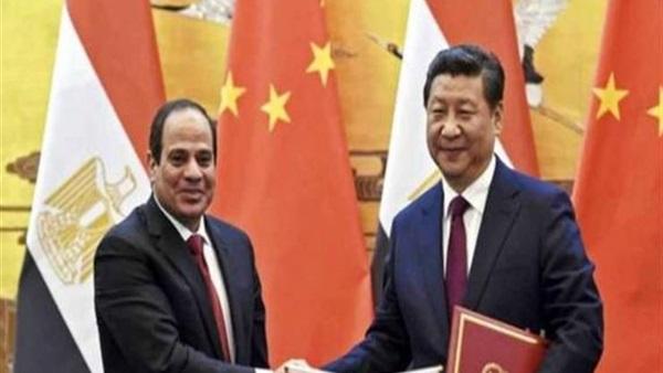التجارة بين الصين ومصر