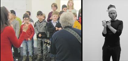 Rolf Zuckowski Weihnachtsbäckerei Gebärden Kinder Babyzeichensprache