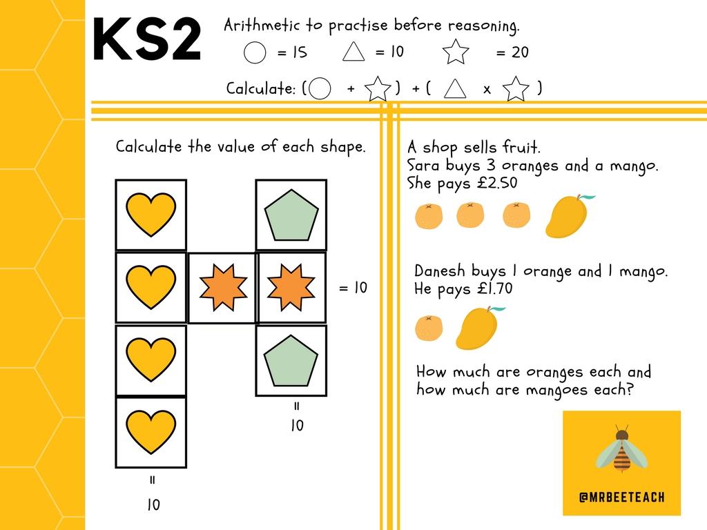 Problem Solving Activities Ks1 Primary School Activities