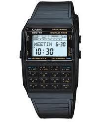 Casio eski tuşlu kol saati