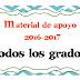 Material de apoyo Mesa Técnica de Chihuahua 2016-2017 TODOS LOS GRADOS
