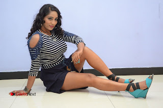 Telugu Actress Meghana Stills HBD (Hacked by Devil) Telugu Movie Audio Launch  0156.JPG