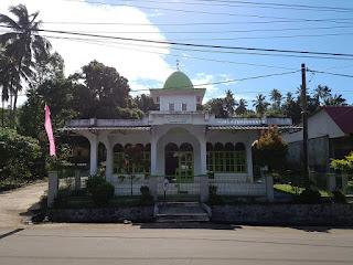 Relief Tuanku Imam Bonjol di Lotta, Pineleng, Minahasa, Sulawesi Utara +Jelajahsuwanto
