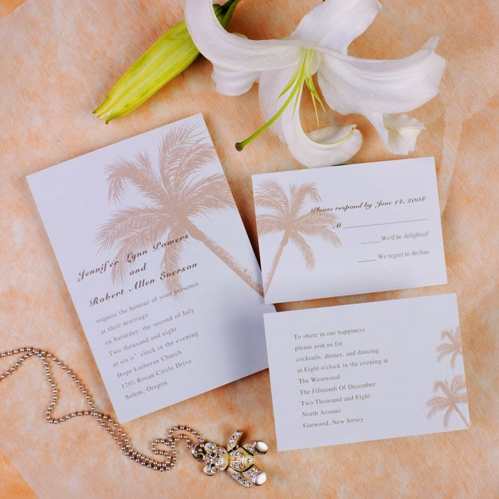 Beach Wedding Invitations Ideas