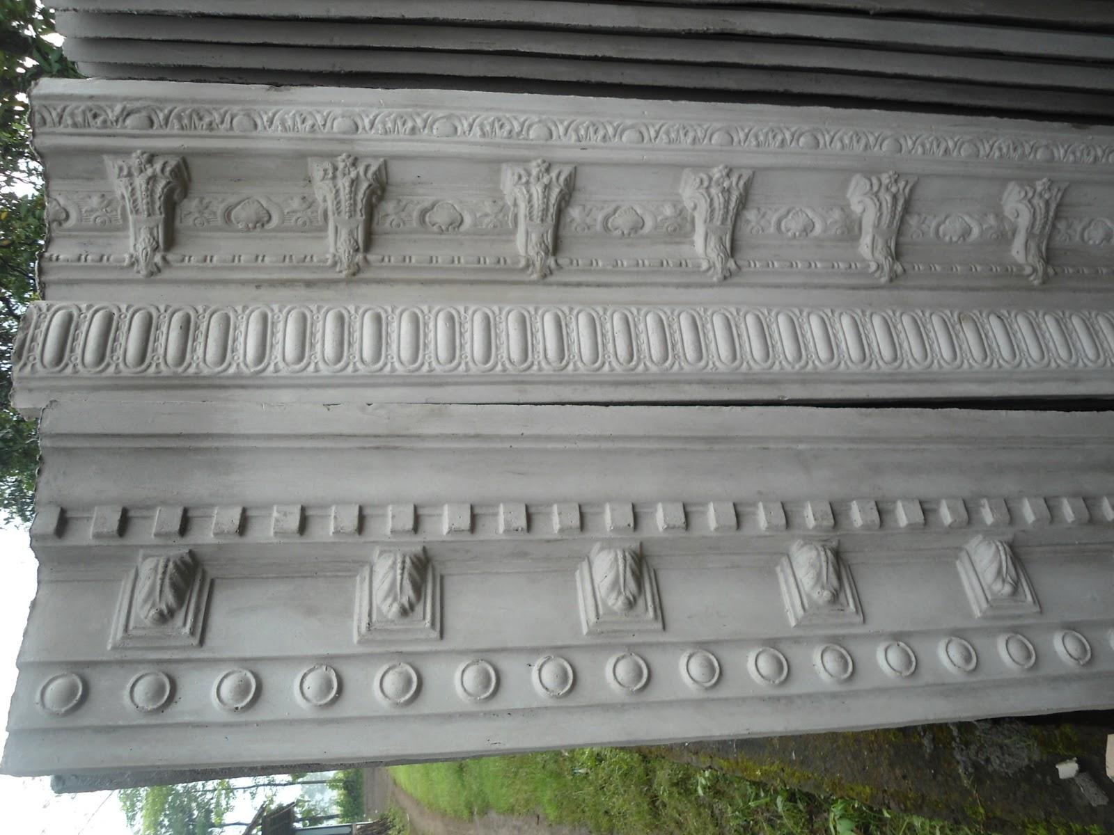 70 Model Cetakan Lisplang Sisi Rumah Minimalis Profil beton minimalis