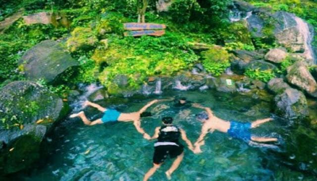 Berenang di sendang geulis kahuripan