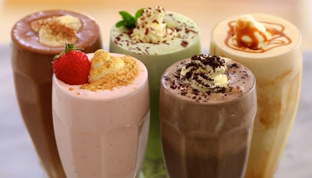how to make chocolate ice cream shake at home