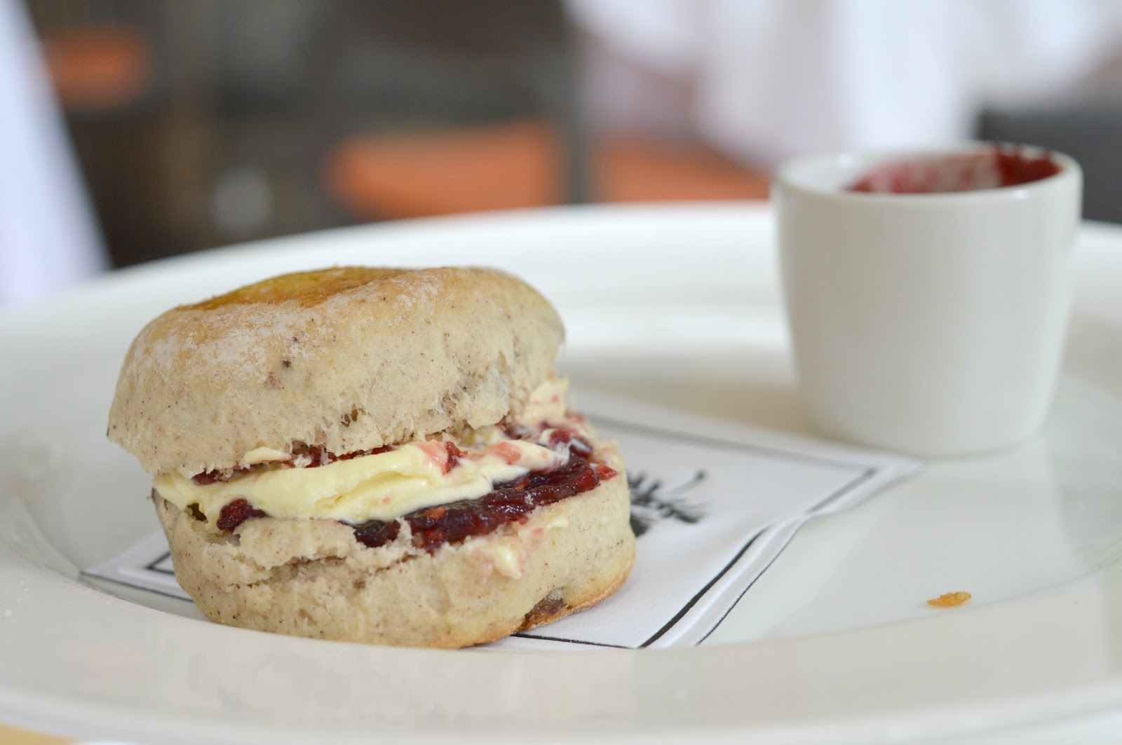 Jesmond Dene House - Afternoon Tea Scone