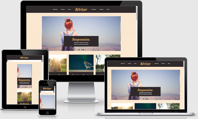 Writer Responsive Blogger Templates