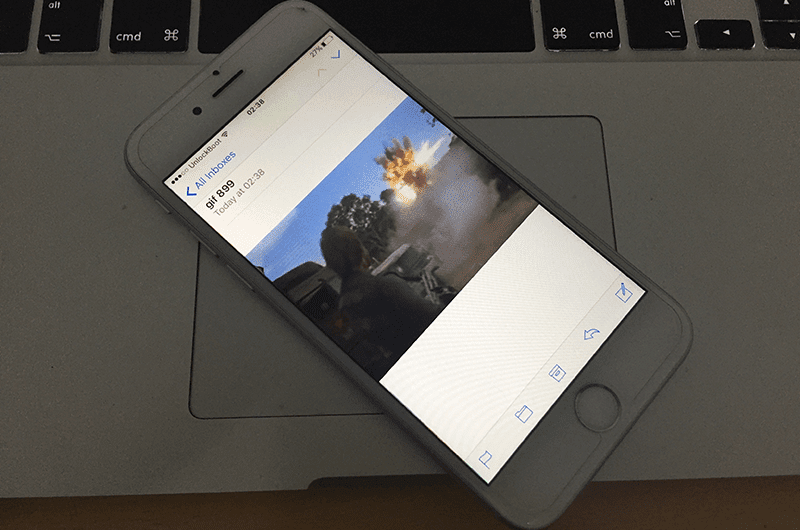 download gif on iphone