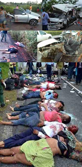ACIDENTE FATAL COM 10 MORTES, ENTRE MARABÁ E ELDORADO DOS CARAJÁS - VEJA FOTOS INÉDITAS