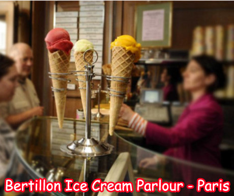 Bertillon Ice Cream Parlor in Paris