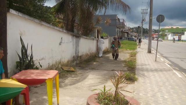 Vigilância Sanitária de Juquiá e SUCEN realizam nebulização contra a dengue
