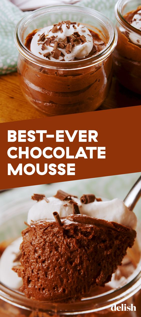 Extra-Fluffy Chocolate Mousse
