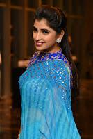 Shyamala in Saree Stills at Telangana Devudu Music Release TollywoodBlog