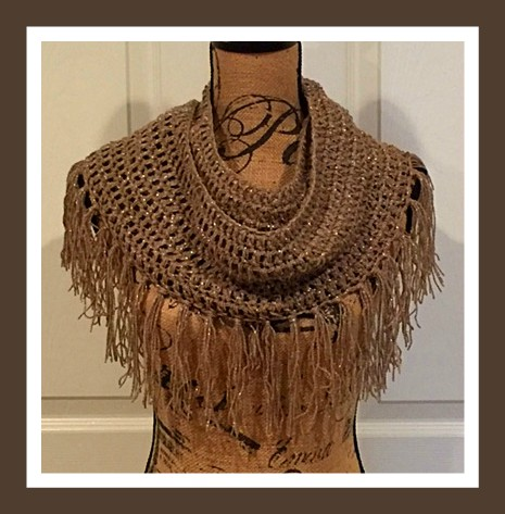 Free Crochet Pattern For Infinity Scarf With Fringe : Connies Spot? Crocheting, Crafting, Creating!: Free ...