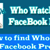 Who's Stalking You On Facebook