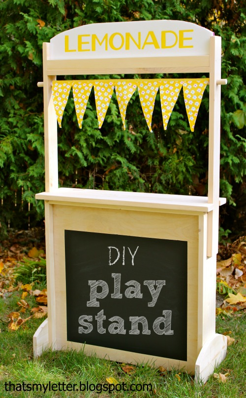 diy play stand