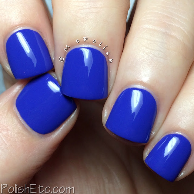 KBShimmer Fall 2015 Collection - Breaking Blues - McPolish