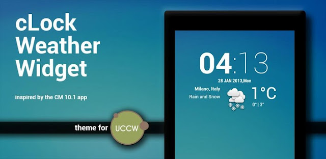 Clock Weather Widget Uccw Skin V1 4 Apk Free
