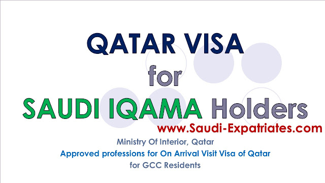 Qatar Visa for Saudi Iqama Holders