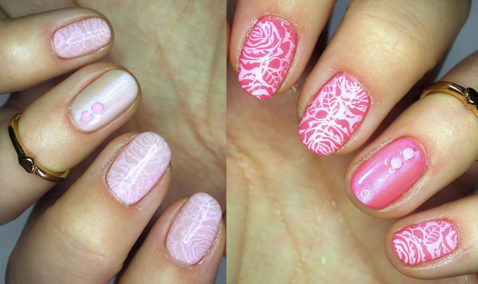 Termiczne Roze Hybryda Manicure Iliz Beauty