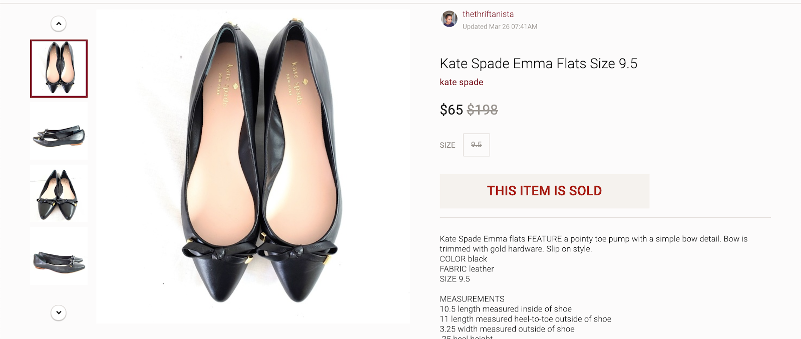 flipping thrift store finds on ebay, poshmark, and etsy