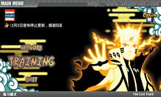 Naruto Senki the Last Fixed by Shoudikun Apk