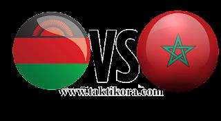 مباراة المغرب ومالاوي بث مباشر اليوم