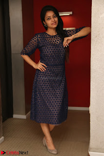Dazzling Janani Iyer New pics in blue transparent dress spicy Pics 018.jpg