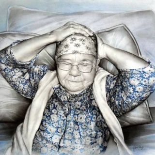 Турецкая художница. Rukiye Garip