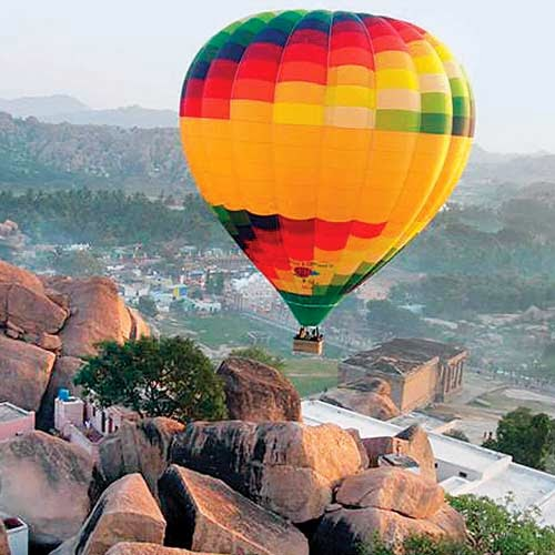Hot Air Ballon service is now available in India