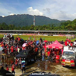 Borneo FC Pertimbangkan Stadion Marora Serui sebagai Kandang Laga Usiran