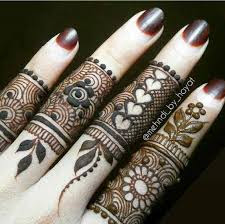 Best Finger Mehndi Design Pdf