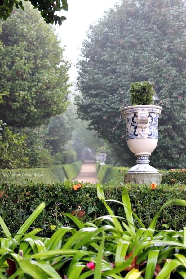 foto de los jardines