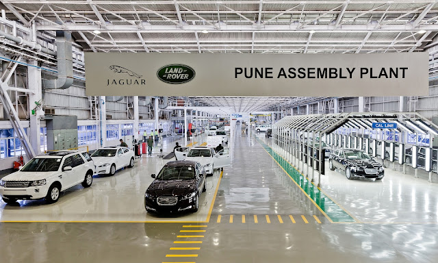 India Built Jaguars Roll Off Factory Line Bmw Car Gallery Image
