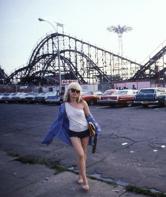 Debbie and the Cyclone at Coney Island